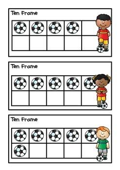 Ten Frames Soccer
