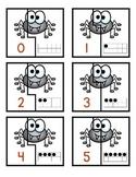Spider Ten Frame Matching Game