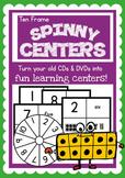 Ten Frames Spinny Center - Fun Math Game Center