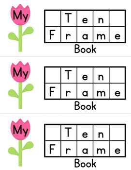 Ten Frames • Spring Tulip Time