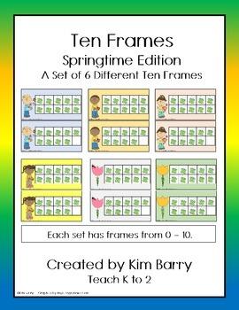 Ten Frames- Springtime Edition