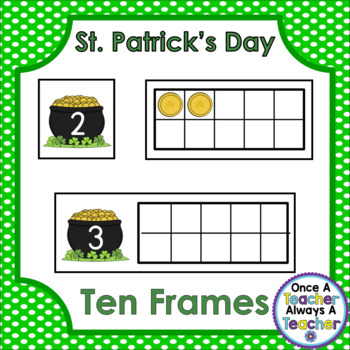 Ten Frames • St. Patrick's Day