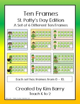 Ten Frames- St. Patty's Day Edition