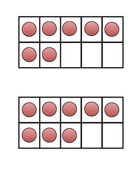 Ten Frames Subitizing