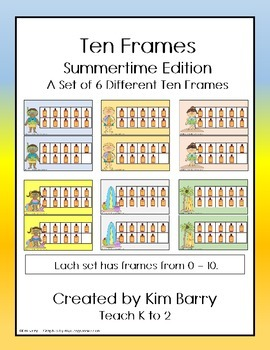 Ten Frames- Summertime Edition