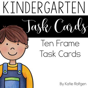 Ten Frames Task Cards