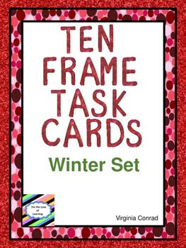 Ten Frames Task Cards:  Winter Theme