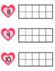 Ten Frames • Valentine's Day