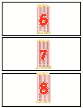 Ten Frames Variety Cards