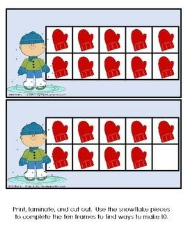 Ten Frames- Winter Edition
