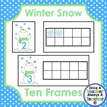 Ten Frames • Winter Snow