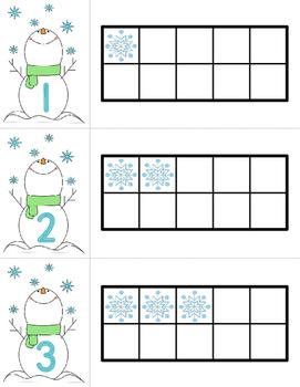 Ten Frames • Winter Snow