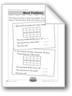 Ten Frames Word Problems (place value)