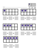 Ten Frames--adding friendly numbers
