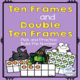 Ten Frames and Double Ten Frames:  Halloween