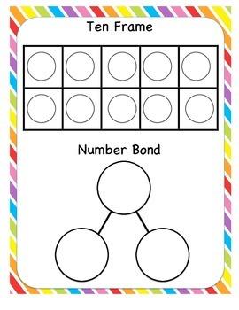 Number bonds teaching resources teachers pay teachers ten frames and number bonds ten frames and number bonds ibookread ePUb