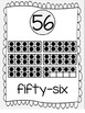 Ten Frames and Number Word Posters 1-120 (Pale Gray)