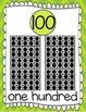 Ten Frames and Number Words 1-100 (Citrus Chevron)