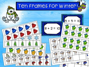 Ten Frames for Fall & Winter