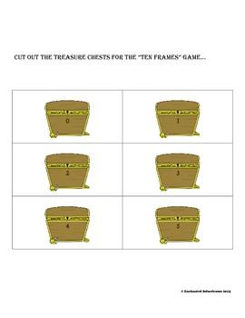Ten Frames for Pirate Crew