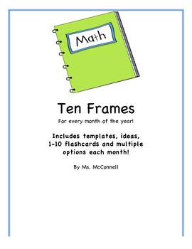 Ten Frames for every month