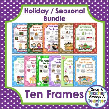 Ten Frames • Holiday / Seasonal Bundle