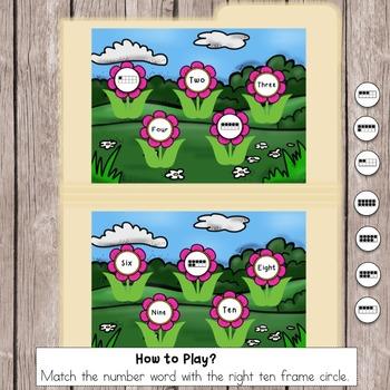Ten Frames from 1-10
