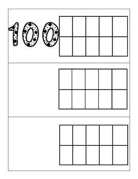 Ten Frames to 100