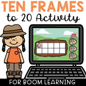 Boom Cards Ten Frame Counting to 20