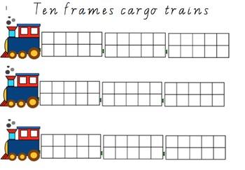 Ten Frames trains