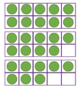 Ten Frames with Dots