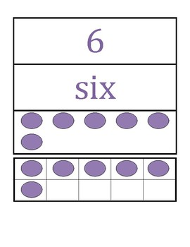 Ten Frames with Number Cards!