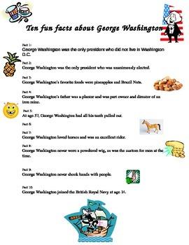 Ten Fun Facts About George Washington