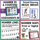 Teen Numbers: Ten Games for Ten Frames {Ideal for Guided Math Groups}