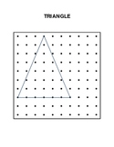 Ten Geoboard Patterns of Basic Shapes