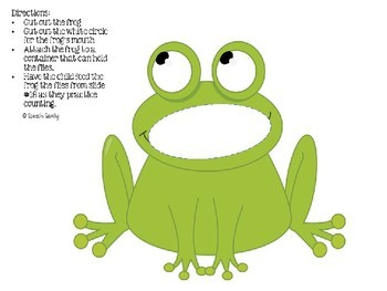 Ten Green and Speckled Frogs Interactive Book & Extention Activities