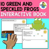 Ten Green and Speckled Frogs Interactive Book & Extention