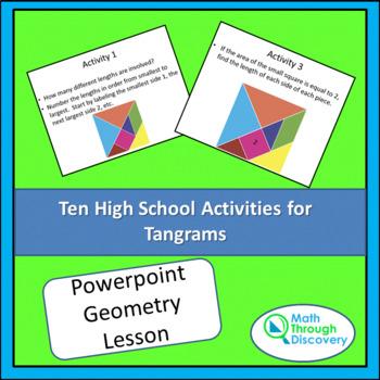 Ten High School Activities for Tangrams