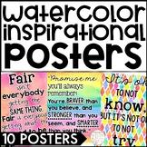 Ten Inspirational Watercolor Posters
