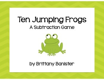 Ten Jumping Frogs:  A Subtraction Game