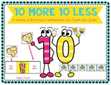 Ten Less Ten More Pack