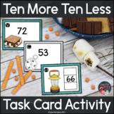 Ten Less/ Ten More Summer Camp Task Card Activity