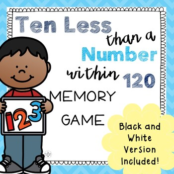 Ten Less than a Number Memory Game