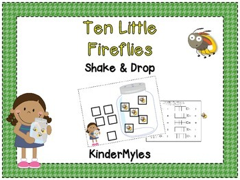 Ten Little Fun Fireflies {Shake and Drop}