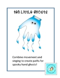 10 Little Ghosts: A Music and Movement Halloween Activity