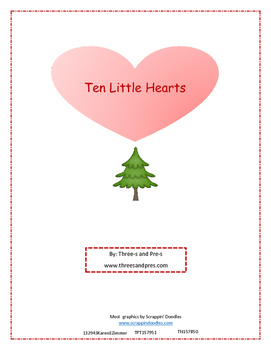 Ten Little Hearts (Hanging on a Tree)