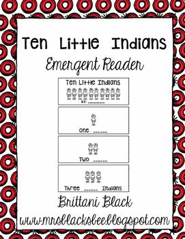 Ten Little Indians reader