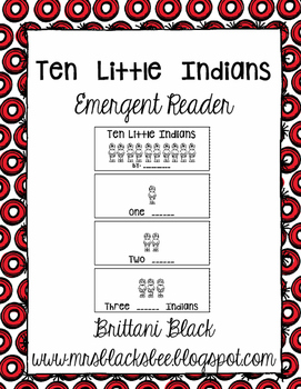 Ten Little Indians reader