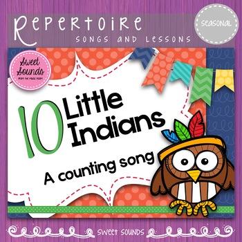 Ten Little Indians Practice Pack