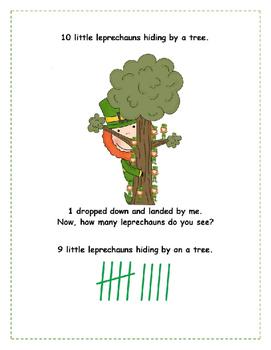 Ten Little Leprechauns Hiding by a Tree